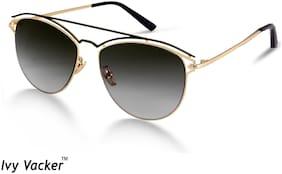 Ivy Vacker Regular lens Oval Frame Sunglasses for Women