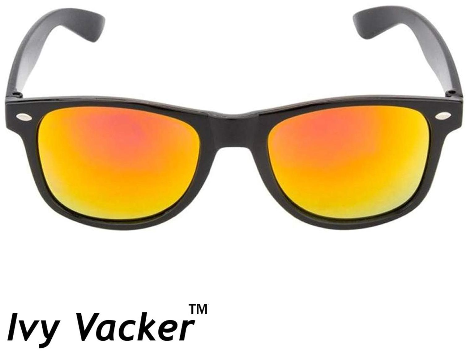7a7a5ea88afd1 Buy Ivy Vacker Red Mirrored Wayfarer Sunglasses for Men Online at Low  Prices in India - Paytmmall.com