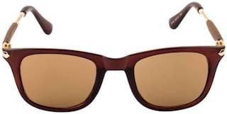 Ivy Vacker Regular lens Wayfarer Sunglasses for Men , 55 mm