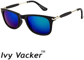 Ivy Vacker Mirrored lens Wayfarer Sunglasses for Men