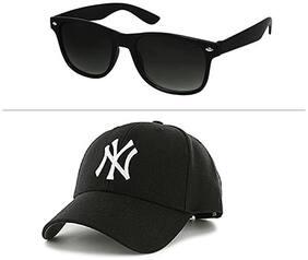 Jack Klein Regular lens Wayfarer Sunglasses for Men , Pack of 1