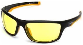 Joe Black JB-804-C3 Sports Frames Ambermatic Yellow