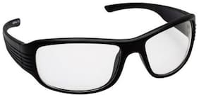 Joe Loui Black Men's Wrap Around Sunglasses