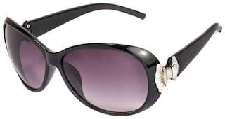 Lecozt Polarized lens Oval Frame Sunglasses for Women