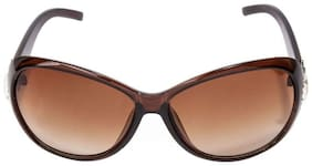 LECOZT Oval Frame BROWN Stylish sunglasses for women