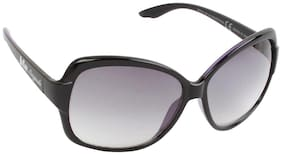 Lee Cooper Rectangular Black Sunglasses LC9081 BLK