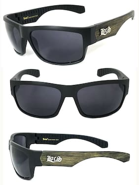 Locs Authentic Cholo Biker Motorcycle Sunglasses OG Style Faux Wood Temples LC96