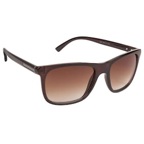 LOF Brown Rectangle Full Rim Anti-Reflective Coating Spectacle-Frame for Unisex