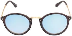 LOF Blue Long Medium Sunglasses