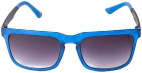 LOF UV Protected Black & Blue Square Wayfarer Sunglass-V-3274