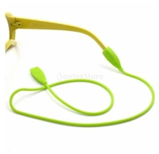 3f6aab3f69 Magideal Silicone Sunglasses Glasses Neck Strap Cord Eyeglasses Holder Rope  Green