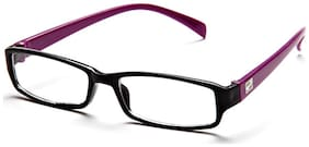 Magjons Black Rectangle Full Rim Eyeglasses for Men - 1