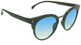 Mangal UV Protection Unisex Sunglass;GunmetalBlack-Blue
