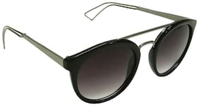 Mangal UV Protection Unisex Sunglass;GunMetalBlack-Grey