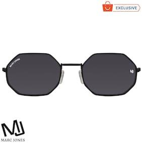 MARC JONES Regular lens Rectangular Frame Sunglasses for Men , Pack of 1