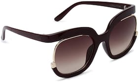 Marc Louis Mirrored lens Square Frame Sunglasses for Men