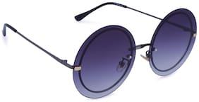Marc Louis Polarized lens Round Frame Sunglasses for Women