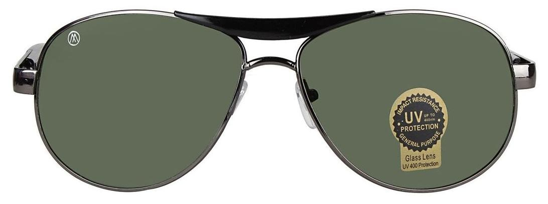 54abf366af Buy MarkQues Cruise 100% UV Protected Unisex Aviator Sunglasses (Grey) (CS- 551314) Online at Low Prices in India - Paytmmall.com