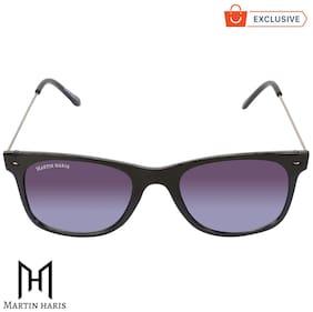 Martin Haris Classic Black & Grey Gradient Uv 400 Protection Wayfarer Stylish Sunglasses For Men & Women.