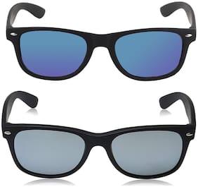 Martin Haris Mirrored lens Wayfarer Sunglasses for Men