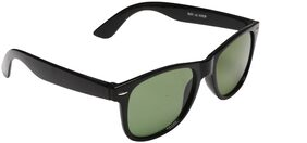 Men's Black Rectangle Sunglasses With Box