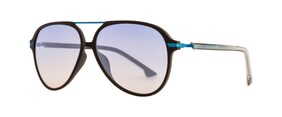 Opium Blue Aviator Medium Sunglasses