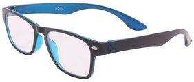 Moda Rectangle Black-Blue Frame Moda-CP84010-C1