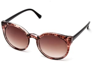 Mtv Mtv-136-c2 Brown Round Sunglasses