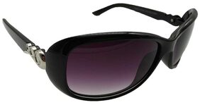 MWAYS Stylish Bug Eye Black Sunglasses