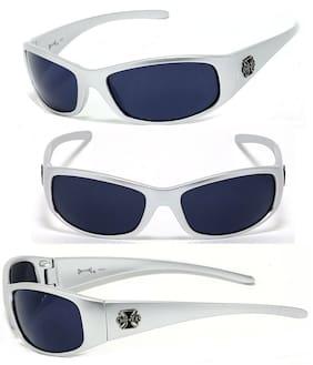New Choppers Bikers Men Discounted Sunglasses - Silver (Cross) C24
