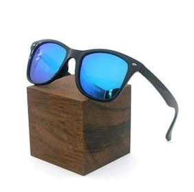 STYLE GURU Anti glare lens Square Frame Sunglasses for Men - Blue to golden square 2148 frame sunglasses