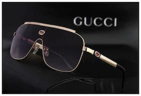 STYLE GURU Anti glare lens Aviator Sunglasses for Men , Dior black to golden metal sunglasses