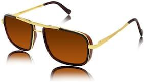 STYLE GURU Anti glare lens Rectangular Frame Sunglasses for Men , Sunglasses