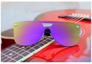fa34d8ecc Buy New Fancy Sunglasses Blue Shaded Wayfarer Goggles for Men Online ...