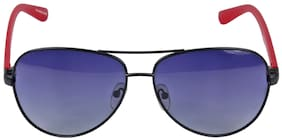 New Stylish Look UV protected Square Unisex Matt Finish Sunglasses