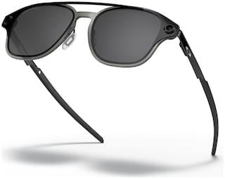 Oakley Black Polarized Rectangular Sunglass