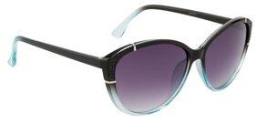 Ochila Black Blue Two Tone Cateye Sunglasses