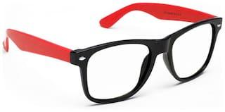 Ochila Black Red ARC Lens Wayfarer Sunglasses