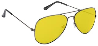 3265a63bd3c0 Buy Ochila Yellow Aviator Sunglasses Online at Low Prices in India ...