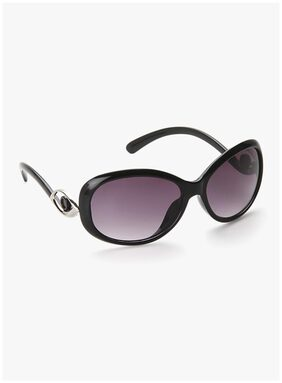 Olvin Black Bug Eye Women's Sunglass