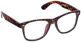 Olvin Brown Wayfarer Full Rim Eyeglasses for Men - 1