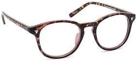 Olvin Brown Wayfarer Full Rim Eyeglasses for Men