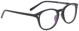 Olvin Black Wayfarer Full Rim Eyeglasses for Men