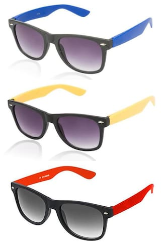 Buy Pack Of 3 Wayfarer Sunglasses Online at Low Prices in India ... 00240d06c6
