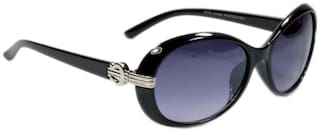 Peter Jones Black Bug Eye Sunglasses