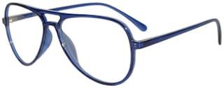 Peter Jones Retro Blue Medium/Small Aviator Unisex Optical Frame (DE128)