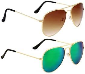 PHENOMENAL Men Aviators Sunglasses