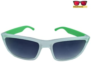 4628fb06427b Buy Polo House USA Green Men's Wrap Around Sunglasses Online at Low ...
