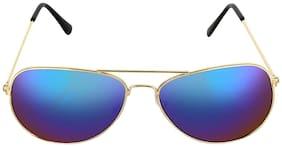 POPMODE Regular lens Aviator Sunglasses for Women