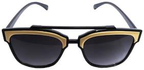 Men Round Frames UV Protected Lens